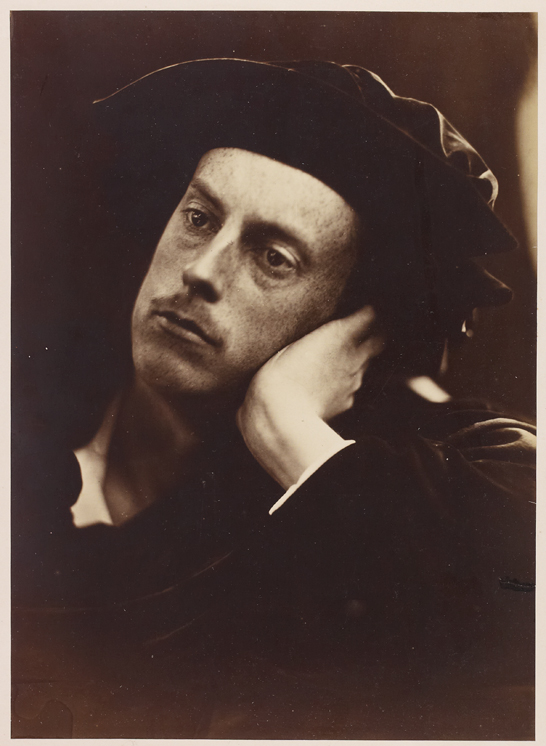 'The Hon. Frank Charteris', 1867, Julia Margaret Cameron, The Royal Photographic Society Collection © National Media Museum, Bradford / SSPL. Creative Commons BY-NC-SA