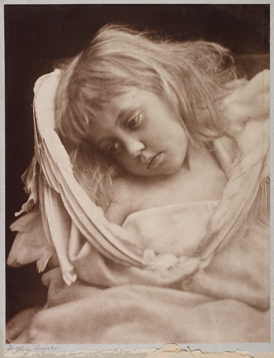 'The Nestling Angel', 1870, Julia Margaret Cameron, The Royal Photographic Society Collection © National Media Museum, Bradford / SSPL. Creative Commons BY-NC-SA