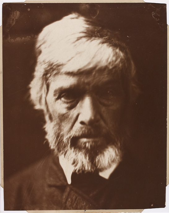'Thomas Carlyle', 1867, Julia Margaret Cameron, The Royal Photographic Society Collection © National Media Museum, Bradford / SSPL. Creative Commons BY-NC-SA