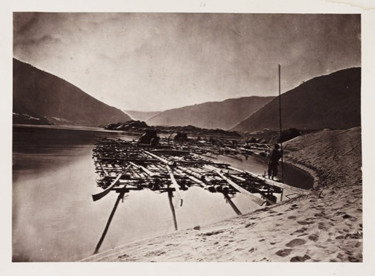 A Pine Raft, c. 1871, John Thomson © National Media Museum, Bradford / SSPL. Creative Commons BY-NC-SA