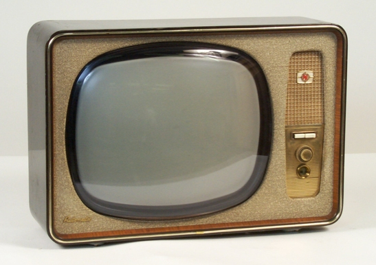 V210A Monochrome Television receiver, c. 1958,  Pye © National Media Museum, Bradford / SSPL. Creative Commons BY-NC-SA