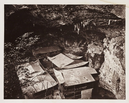 Yuen Fu Monastery Cave, c. 1871, John Thomson © National Media Museum, Bradford / SSPL. Creative Commons BY-NC-SA