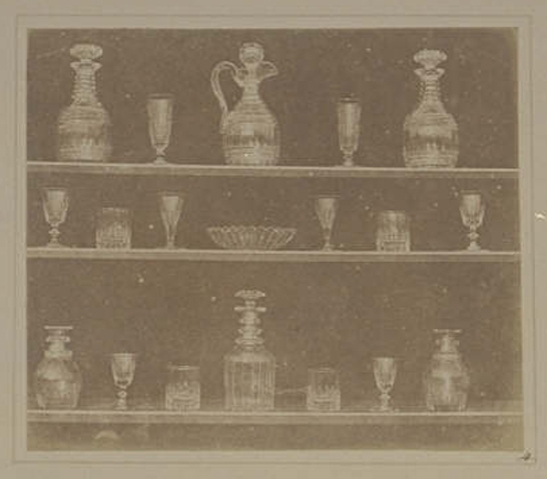 Plate IV from The Pencil of Nature, Articles of Glass, William Henry Fox Talbot © National Media Museum, Bradford / SSPL. Creative Commons BY-NC-SA