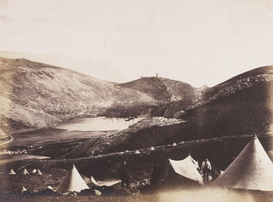 Balaklava from Guard's Hill, Crimea, 1855, Roger Fenton, The Royal Photographic Society Collection © National Media Museum, Bradford / SSPL. Creative Commons BY-NC-SA