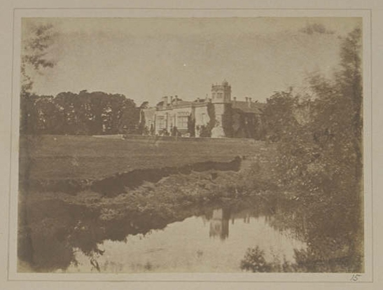 Plate XV from The Pencil of Nature, Lacock Abbey in Wiltshire, William Henry Fox Talbot © National Media Museum, Bradford / SSPL. Creative Commons BY-NC-SA