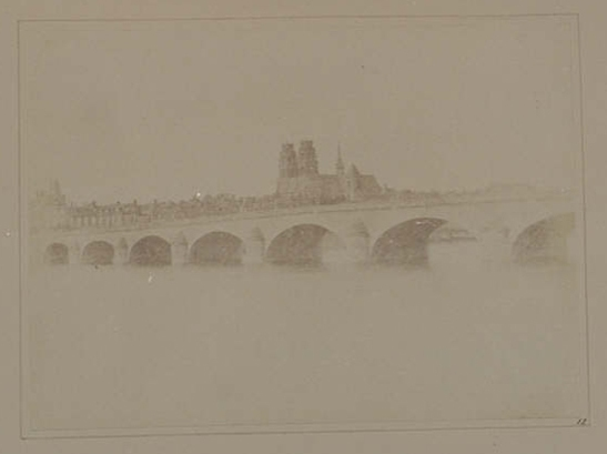 Plate XII from The Pencil of Nature, The Bridge of Orleans, William Henry Fox Talbot © National Media Museum, Bradford / SSPL. Creative Commons BY-NC-SA