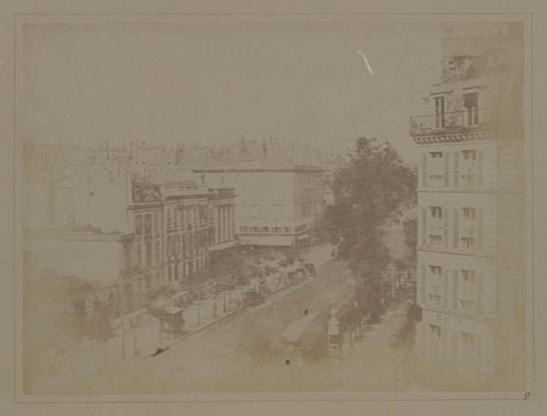 Plate II from The Pencil of Nature, View of the Boulevards of Paris, William Henry Fox Talbot © National Media Museum, Bradford / SSPL. Creative Commons BY-NC-SA