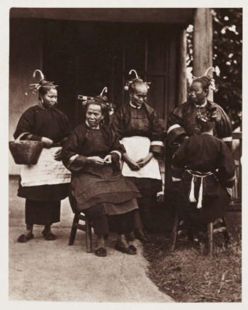 John Thomson (1837-1921) Field Women, c. 1870 Carbon print from 'Foo Chow and the River Min', 1873 National Media Museum